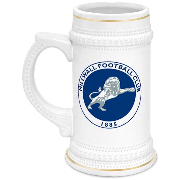 Printio Millwall fc logo beer cup цена и фото