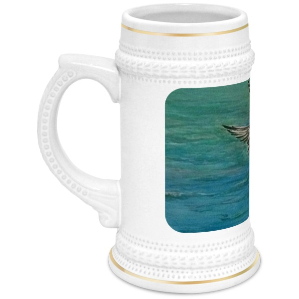Кружка пивная Printio Чайка 海鸥 seagull чайка