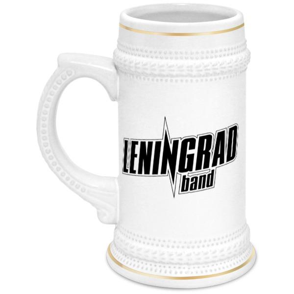 Кружка пивная Printio Leningrad кружка пивная printio ★leningrad★