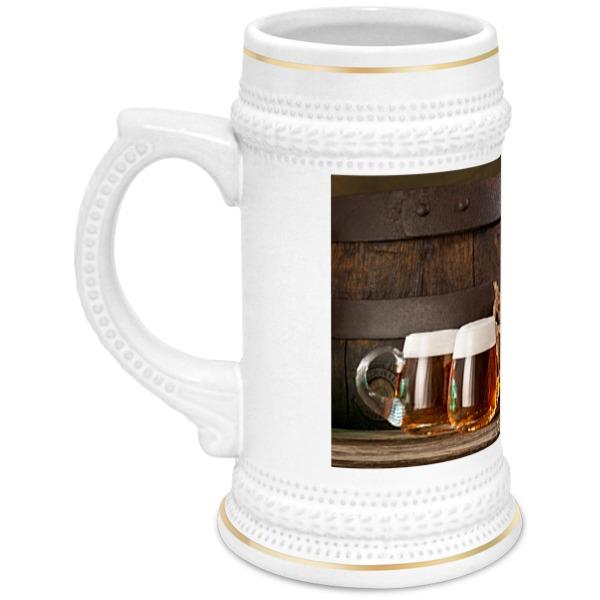 Кружка пивная Printio Пиво пенное