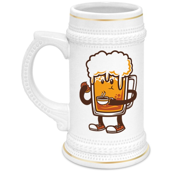Кружка пивная Printio Пиво. кружка пивная printio березка