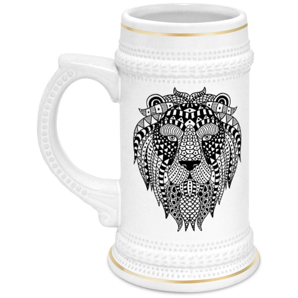 Printio Этнический лев цена и фото