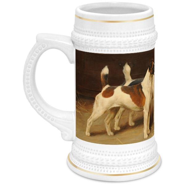 Фото - Кружка пивная Printio 2018 год желтой собаки кружка printio год собаки 2018