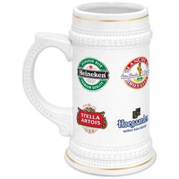 """Кружка пивная """"Beer. Пиво"""" - коллаж, пиво, эмблемы, фирменные знаки"""