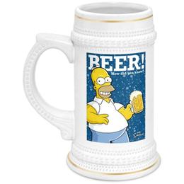 """Кружка пивная """"Homer"""" - simpsons, в подарок, оригинально, симпсоны, парню, день рождения, пивной бокал, подаров"""