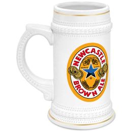 "Кружка пивная ""Newcastle Beer Can"" - пиво, beer, ale"