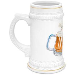 """Кружка пивная """"Пиво пенное"""" - пиво, напиток"""