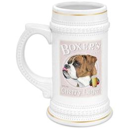 "Кружка пивная ""boxer"" - винтаж, боксёр, boxer"