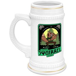"""Кружка пивная """"squirrel"""" - пиво"""