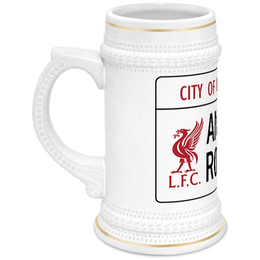 """Кружка пивная """"Футбольный клуб Liverpool"""" - футбол, ливерпуль, liverpool, lfc"""