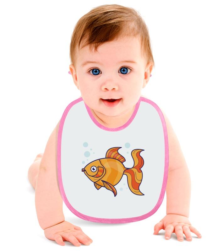 Слюнявчик Printio Золотая рыбка слюнявчик printio золотая рыбка