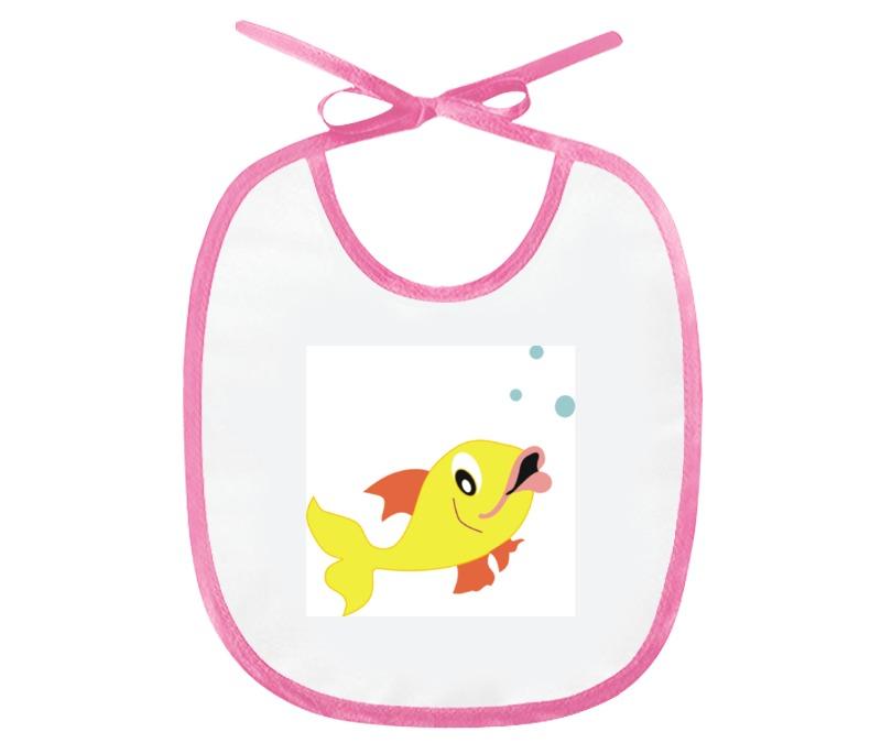 Слюнявчик Printio Рыбка золотая