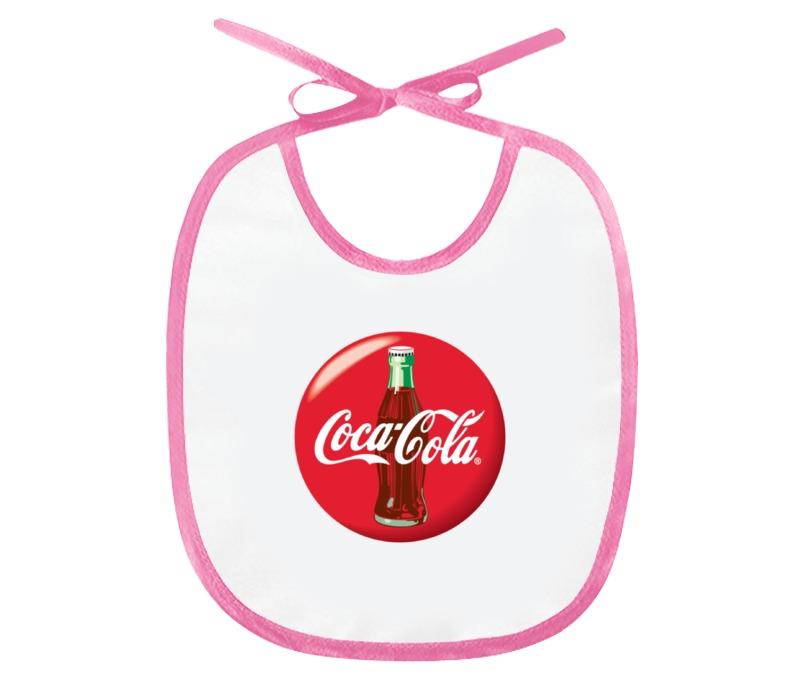 Слюнявчик Printio Coca-cola