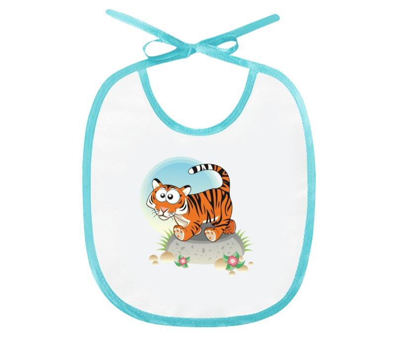 Фото - Слюнявчик Printio Тигрёнок лясковский в вежливый тигрёнок сказка