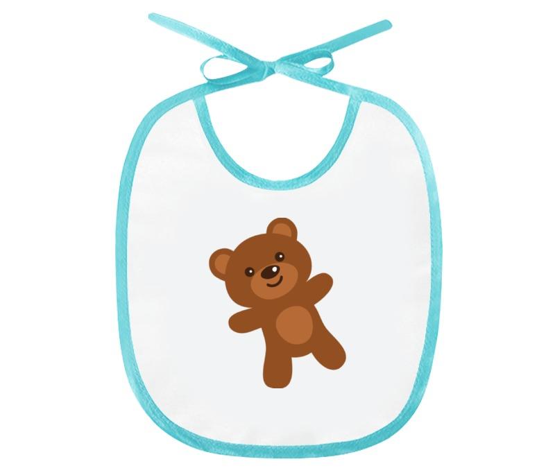 Слюнявчик Printio Медвежонок медвежонок шарик