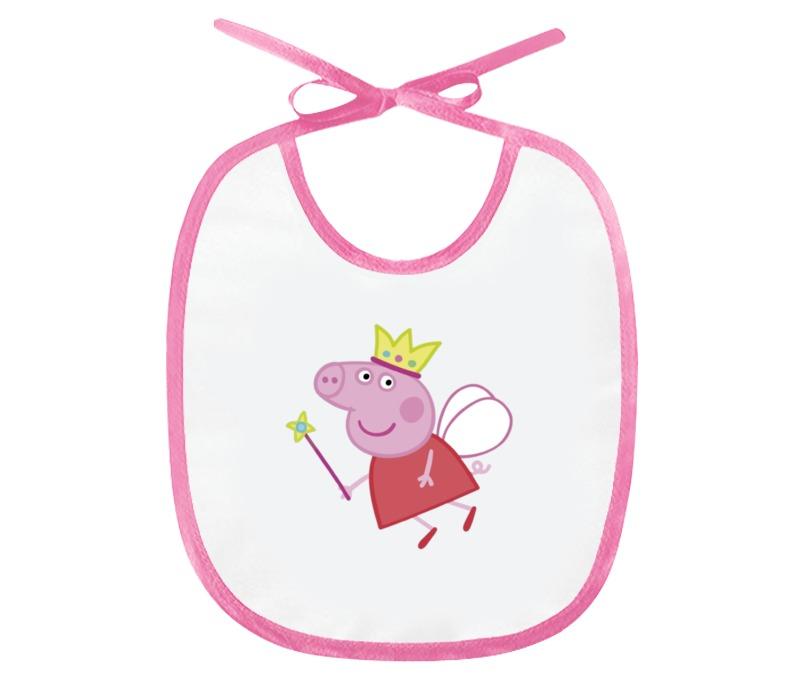 Слюнявчик Printio Свинка пеппа игровые наборы свинка пеппа peppa pig игровой набор пеппа и кенди