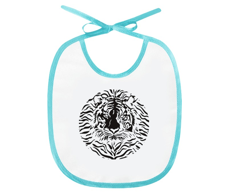 Слюнявчик Printio Взгляд тигра шапочка для плавания arena polyester  цвет  темно синий