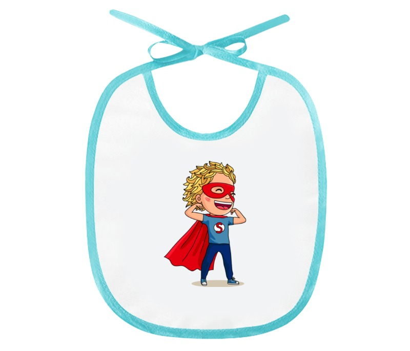 Слюнявчик Printio Супергерой