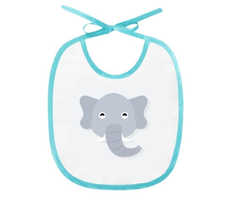 Слюнявчик Printio Слонёнок каталки альтернатива башпласт слонёнок