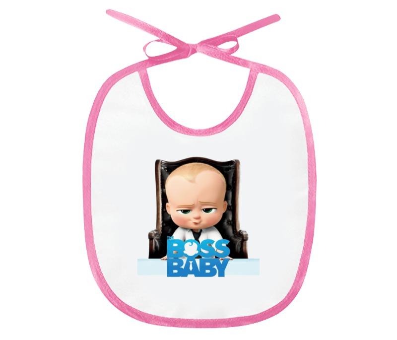 Слюнявчик Printio Босс-молокосос / the boss baby слюнявчик printio rock baby