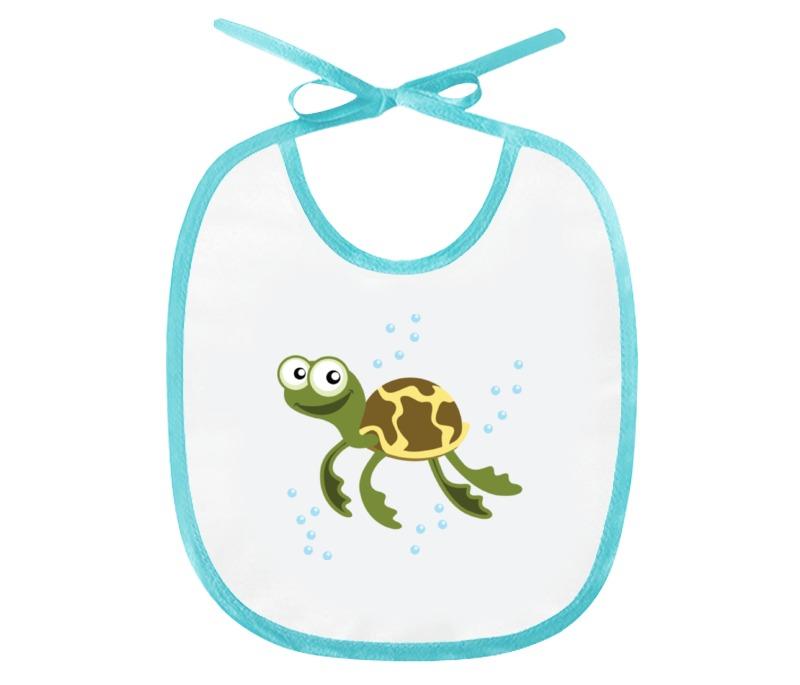 Слюнявчик Printio Морская черепаха