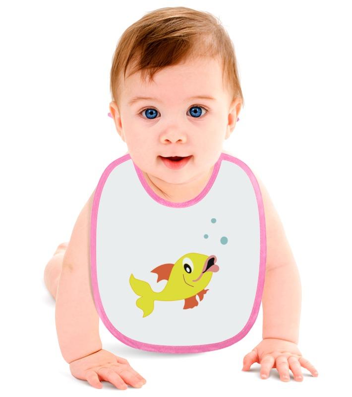 Слюнявчик Printio Рыбка золотая слюнявчик printio золотая рыбка