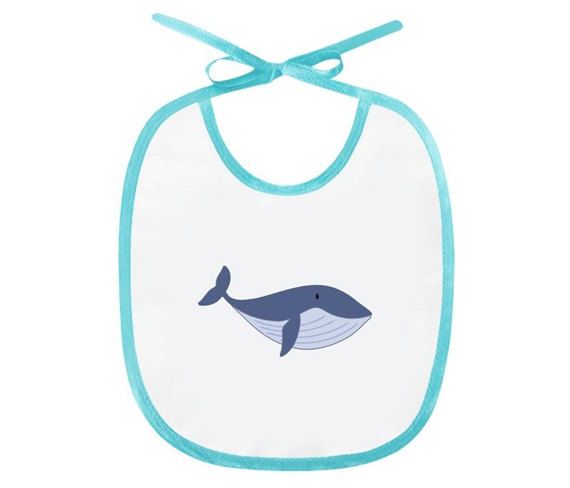 Слюнявчик Printio Рыба-кит
