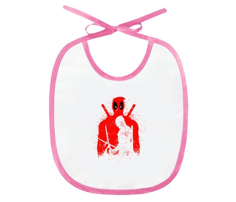 Слюнявчик Printio Deadpool слюнявчик printio русалка mermaid