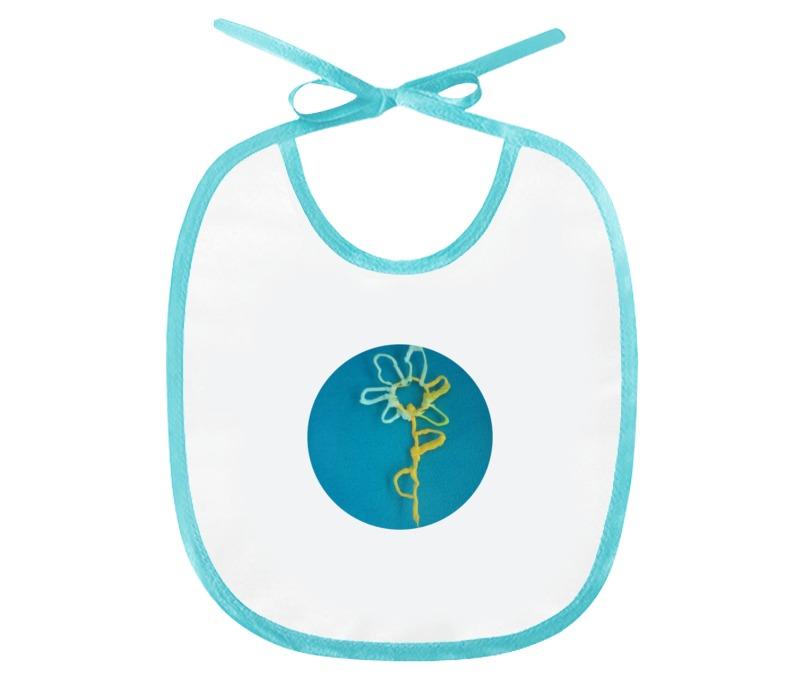 Слюнявчик Printio Цветик-семицветик
