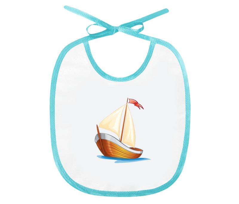 Printio Кораблик плывущий по волнам. цена