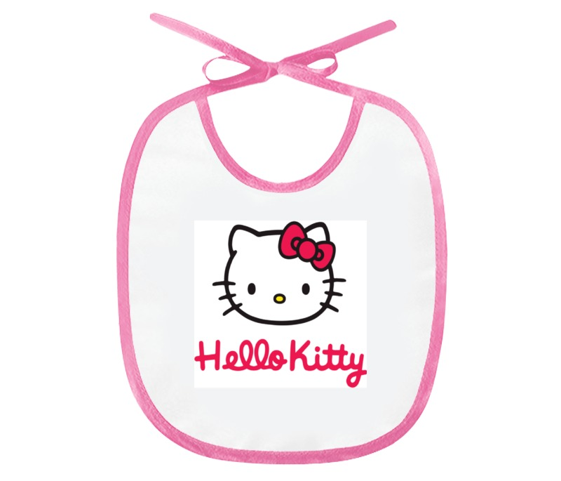 Слюнявчик Printio Hello kitty
