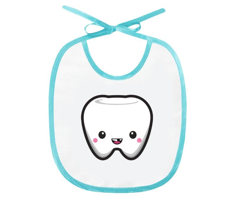 Слюнявчик Printio Детский зубик шкатулка первый зубик 67671