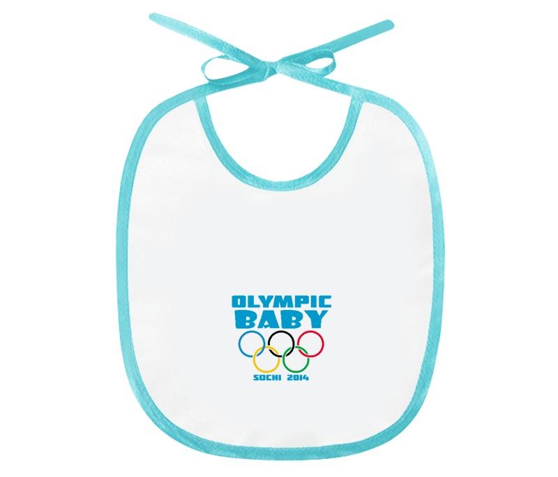 Слюнявчик Printio Olympic baby цена