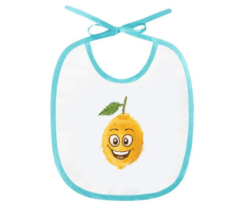 Слюнявчик Printio Лимончик соковыжималка gjo casa лимончик цвет желтый прозрачный
