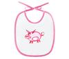 """Слюнявчик """"Розовый поросенок"""" - арт, счастье, малыш, свин, розовый поросенок"""