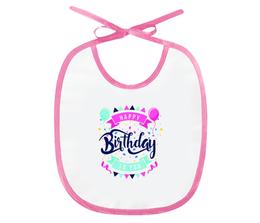 """Слюнявчик """"С Днём Рождения """" - праздник, др, с днём рождения, день рождения"""