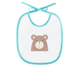 """Слюнявчик """"Медвежонок"""" - животные, медведь, медвежонок, рисунок, игрушка"""