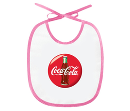 """Слюнявчик """"Coca-Cola"""" - символ, знак, логотип, logo"""