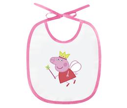 """Слюнявчик """"Свинка Пеппа"""" - мультфильм, свинка, свинка пеппа, peppa, peppa pig"""