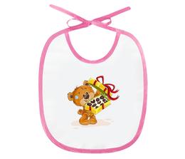 """Слюнявчик """"Мишка Тэдди"""" - конфеты, медведь, медвежонок, игрушка, мишка тэдди"""