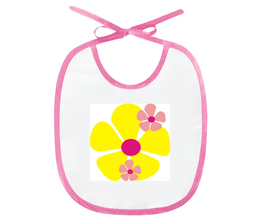 """Слюнявчик """"цветочки"""" - купить, для мальчика, для девочки, для ребенка, фартучек"""
