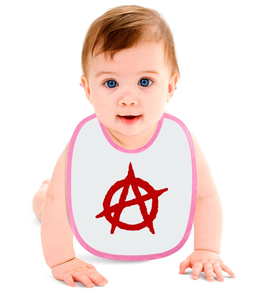 "Слюнявчик ""Анархия"" - logo, логотип, символ, anarchy, анархия"
