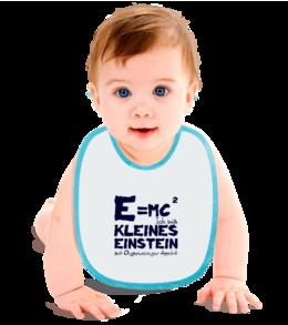 """Слюнявчик """"Kleines Einstein"""" - для детей, olympic games, for baby, kleines einstein, олимпийский чемпион, маленький эйнштейн"""