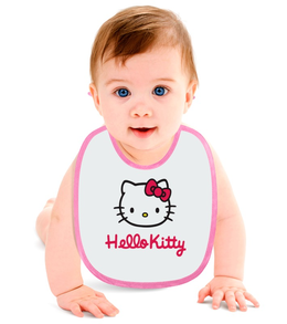 "Слюнявчик ""Hello Kitty"" - кошка, hello kitty, хелло китти, каваий"