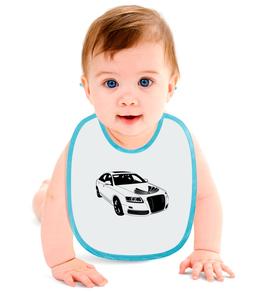 """Слюнявчик """"автомобиль"""" - купить, для мальчика, для девочки, для ребенка, фартучек"""