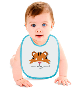 """Слюнявчик """"Тигрёнок"""" - животные, детский, тигр, игрушка, тигрёнок"""