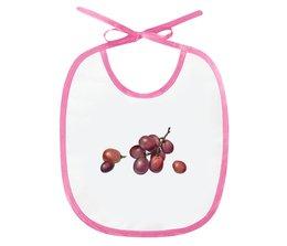 """Слюнявчик """"Вкусный виноградик"""" - виноград, подарок малышу, для самых маленьких, мама и малыш"""