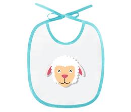 "Слюнявчик ""Овечка"" - рисунок, детский, игрушка, овечка, барашик"