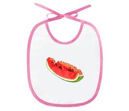 """Слюнявчик """"Арбузик"""" - арбуз, подарок малышу, для самых маленьких, мама и малыш"""