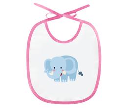 """Слюнявчик """"Слонёнок"""" - животные, рисунок, слон, детский, слонёнок"""